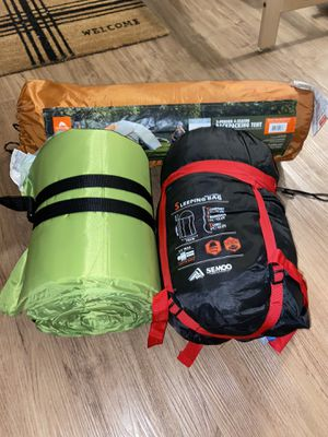 Tent + sleeping bag & pad for Sale in Austin, TX