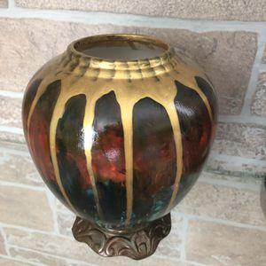 Hand made / hand painted ceramic vase for Sale in Lansdowne, VA