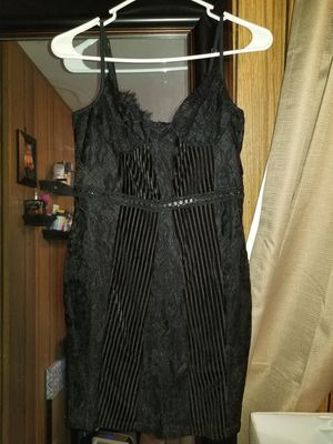 Prettylittlething black lace dress for Sale in Peoria, AZ