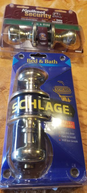 SCHLAGE Bed & Bath Door Knob Brand New for Sale in South Brunswick Township, NJ