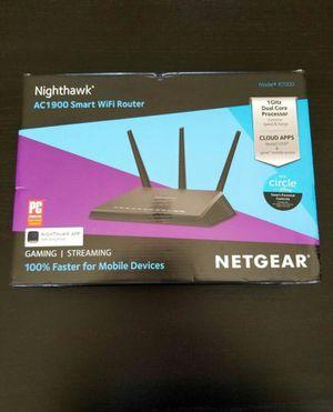 Netgear Nighthawk AC1900 R7000 Wi-Fi Router for Sale in San Jacinto, CA