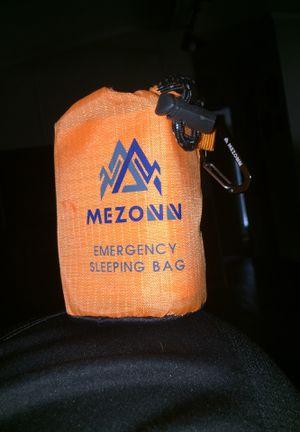 Emergency sleeping bag for Sale in Prairie Grove, AR