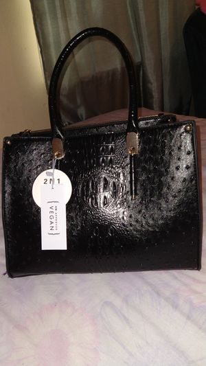 Calin Collection Color Black Big Purse 2 N 1 for Sale in Dallas, TX