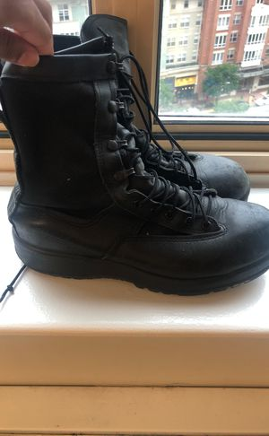 Navy Steel-Toe work boots (Belleville) for Sale in Alexandria, VA