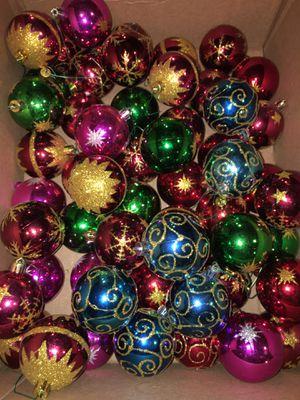 Christmas Ornaments-multi color for Sale in Pico Rivera, CA