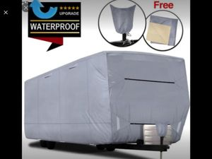 "RVMasking Upgraded Waterproof Oxford Travel Trailer RV Cover, Fits 22'1"" - 24' RVs for Sale in Riverside, CA"