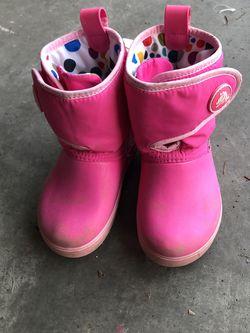 Crocs Rain Snow Boots (size 10) for Sale in Kirkland,  WA