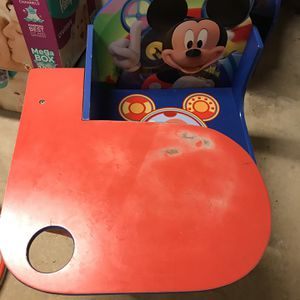 Kids Activity Desk Mickey Mouse for Sale in Spotswood, NJ