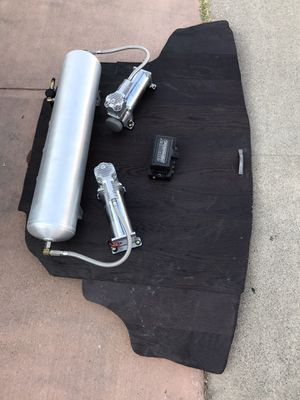 Full airbag suspension for 350z or g35 for Sale in Anaheim, CA