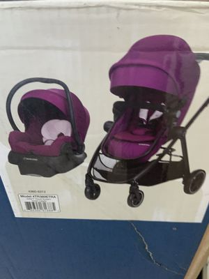 Maxi Cosi zelia travel system stroller violet purple brand new in box for Sale in Chandler, AZ