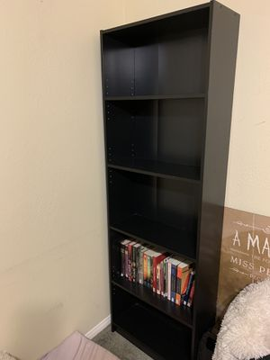 IKEA Black Bookshelf Tall, Great Condition! Two of them! for Sale in Rancho Cucamonga, CA