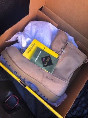 New Gore-Tex army boots size 11 for Sale in FAIRMOUNT HGT, MD