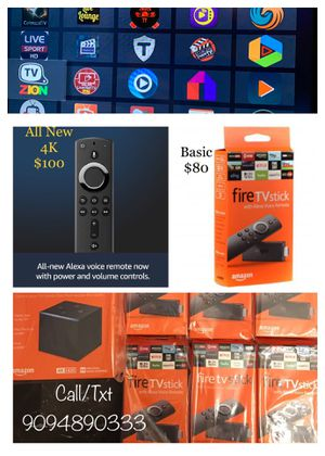 Fire tv stick fully loaded for Sale in Riverside, CA