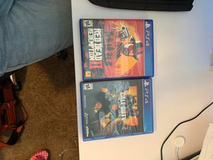 Red Dead Redemption and black ops 4 Video game bundle Ps4 for Sale in Alta Loma, CA