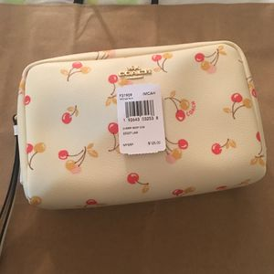 Coach cherry cosmetic bag for Sale in Fremont, CA