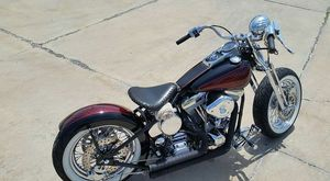 Bobber motorcycle.harley Davidson.custom bobber.chopper motorcycle,rolling chassis. No motor trans.primary. for Sale in Burbank, IL