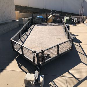 Trailer 6.5' x 15' for Sale in Lakeside, CA