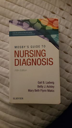 Nursing - Mosby's Guide to Nursing Diagnosis 5th Edition for Sale in Plano, TX
