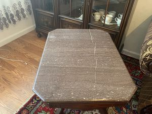 Antique table with marble for Sale in San Jose, CA