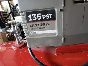 Porter Cable air compressor for Sale in Everett, WA