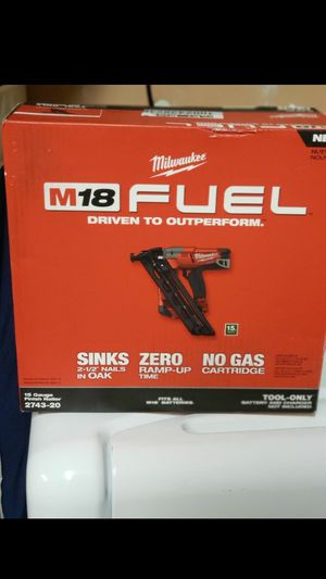 Brand New in box m18 fuel 15 gauge nail gun for Sale in Fremont, CA