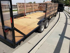7' x 20' flatbed trailer for Sale in Paramount, CA