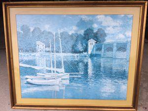 Framed Monet print for Sale in Poway, CA