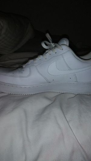 Nike white Air Force Ones for Sale in Garland, TX