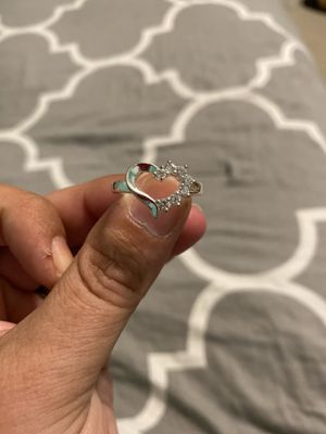 Silver Plated Heart Ring for Sale in Burke, VA