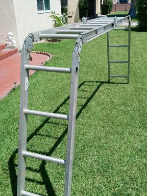 16 ft Werner aluminum ladder $65 firm for Sale in West Covina, CA