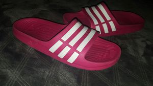 Pink Adidas Sandal's for Sale in Fresno, CA