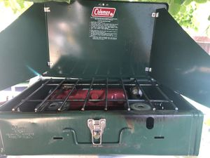 Coleman camping stove for Sale in San Jose, CA