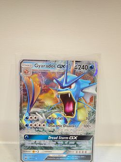 Gyarados GX 18/111 Ultra Rare Full Art Holo Pokémon card for Sale in Hollywood,  FL