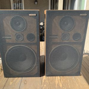 2 Pioneer CS-G303 3-Way Speakers - Tested & Working. Great Stereo Sound for Sale in Los Angeles, CA