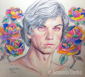 Evan Peters drawing for Sale in Warner Robins, GA
