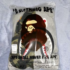 BAPE GIANT SHARK FULL ZIP HOODIE 2XL for Sale in New Haven, CT