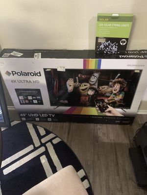 """New 49"""" 4K led TV for sale for Sale in Costa Mesa, CA"""