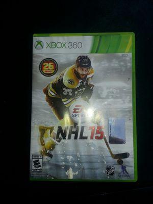 XBOX 360 NHL15.GAME for Sale in Glen Burnie, MD