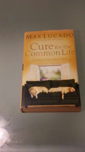 MAX LUCADO CURE FOR THE COMMON LIFE for Sale in Silver Spring, MD