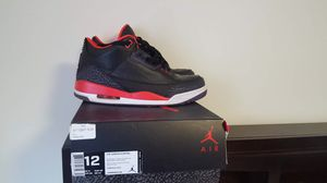 Air Jordan 3 Retro Size 12 for Sale in Oakton, VA
