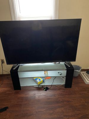 65 inch w/ tv stand for Sale in Harrisburg, PA