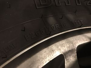 Chevy Tahoe Wheels and Tires Chevrolet 265/70/16 - $170 for Sale in Largo, FL