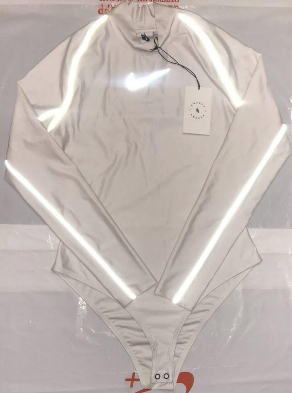 NIKE NIKELAB X AMBUSH WOMENS BODYSUIT BRAND NEW WITH TAGS size XS AQ9229-030