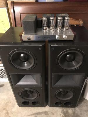 Klipsch Epic CF3 Version 1. Bose 901 II, Tube Amplifier Music Angel XD 800mkiii for Sale in Chula Vista, CA