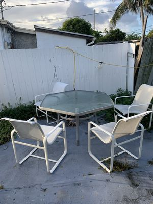 Outdoor patio furniture for sale for Sale in Fort Lauderdale, FL