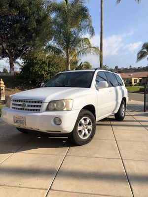 2002 Toyota Highlander for Sale in Lakeside, CA
