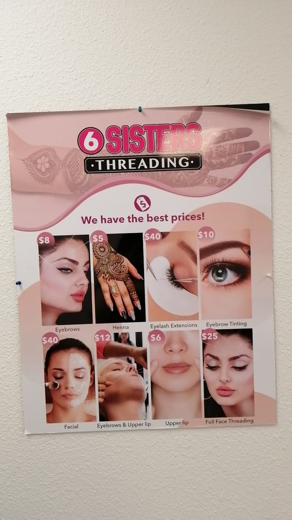 6 Sisters Threading
