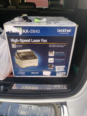Brother Fax 2840 for Sale in Gahanna, OH