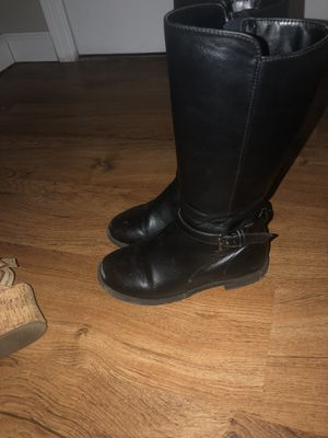 Girl boots 13 size for Sale in Wheeling, IL