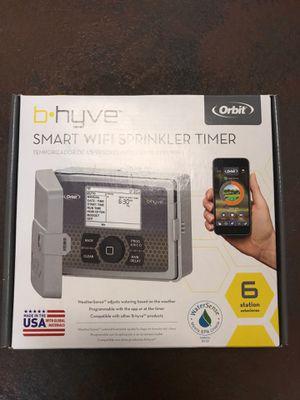 Orbit smart WiFi sprinkler timer NEW for Sale in Tacoma, WA